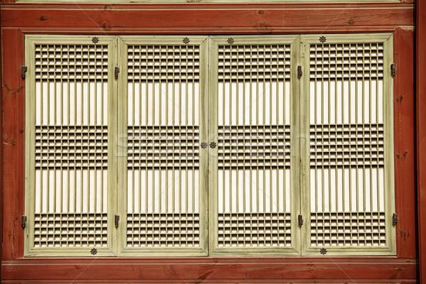 Finestra schermo dettaglio architettonico dettagliato lavoro Foto d'archivio © searagen