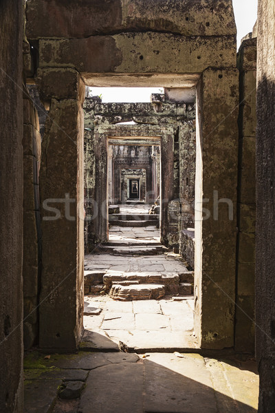 Preah Khan Temple Corridor Stock photo © searagen