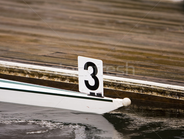 Number Three Boat Stock photo © searagen