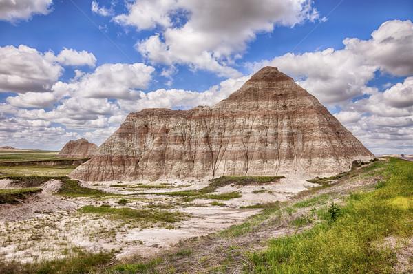 Een berg heuvel park natuur kleur Stockfoto © searagen