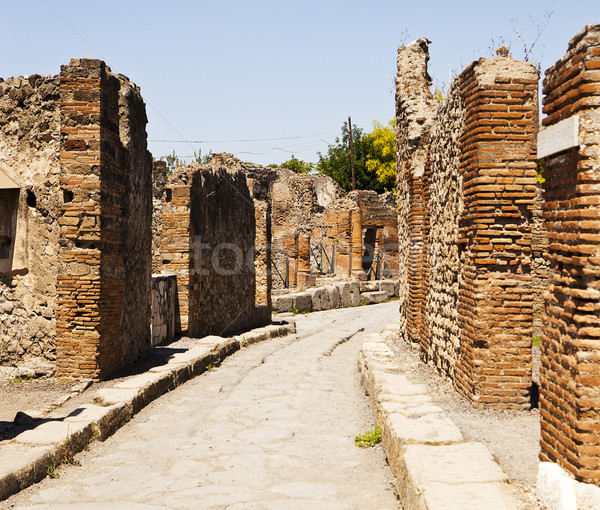 A Street In Pompeii Stock photo © searagen