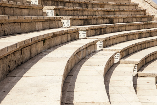 Roman Theater At Caesaria Stock photo © searagen