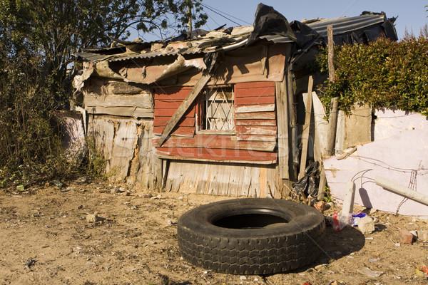 Sudáfrica típico casa Sudáfrica representante viviendas Foto stock © searagen