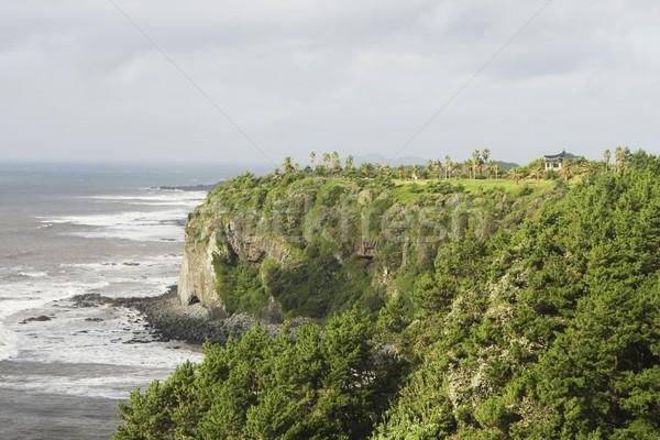 побережье острове можете высокий Сток-фото © searagen