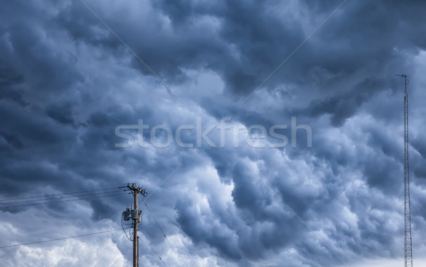 Angry Storm Clouds Over Ohio Stock photo © searagen