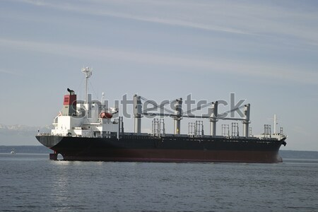 Fret ancre Seattle port porte-conteneurs multiple Photo stock © searagen