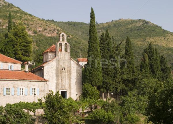 средневековых Черногория монастырь старые каменные мирный Сток-фото © searagen