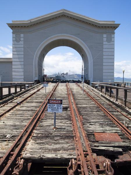 San Francisco Wharf Stock photo © searagen