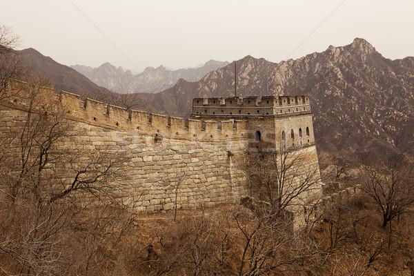 Great Wall of China Guardtower Stock photo © searagen