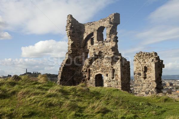 Stone Building Ruins Stock photo © searagen