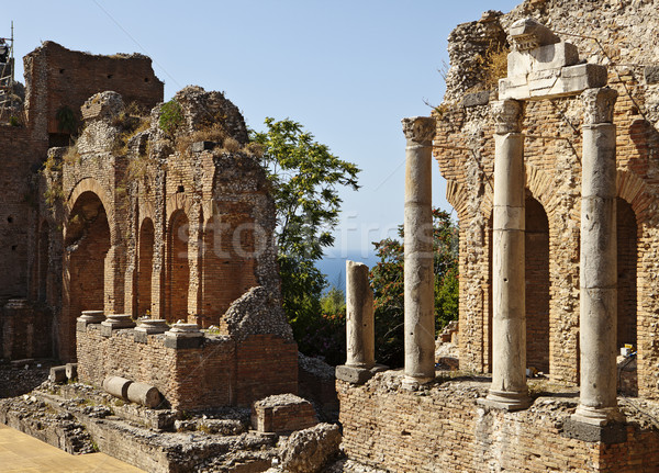 Roman Theatre In Taormina Stock photo © searagen