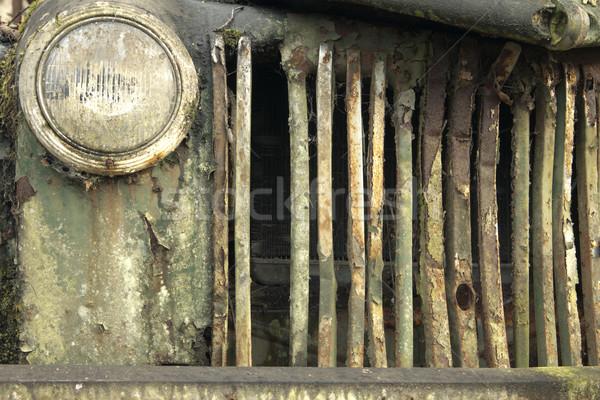 Rusty Truck Highlights Stock photo © searagen