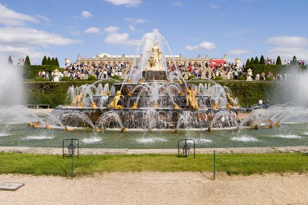 фонтан Версаль мнение дворец один основной Сток-фото © searagen