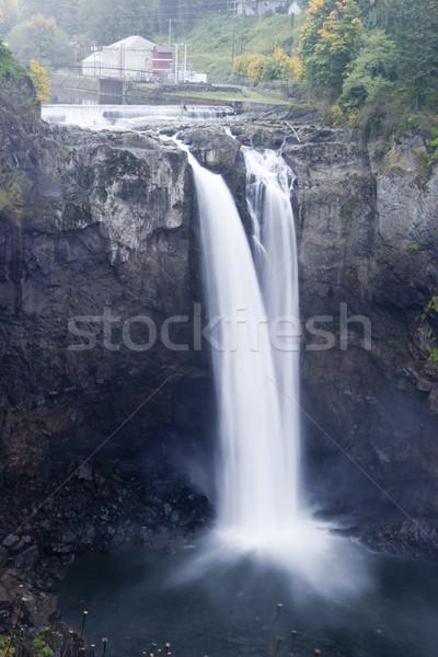 Toeristische attractie 30 Seattle blootstelling uit Stockfoto © searagen