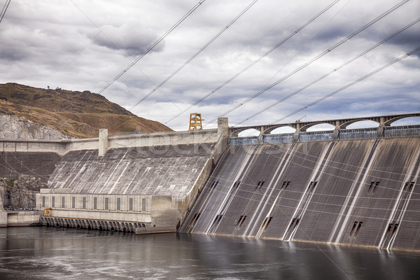 Grand Coulee Dam Stock photo © searagen