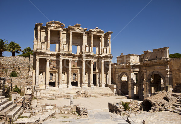 Stock photo: Library Of Celsus at Ephesus