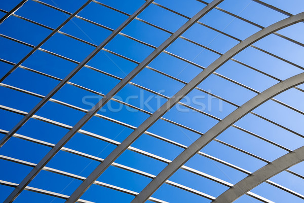 Lattice Abstract With Sky Stock photo © searagen