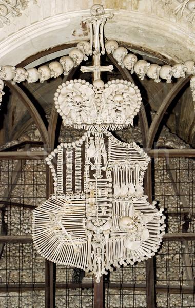 Czech Bone Church Stock photo © searagen