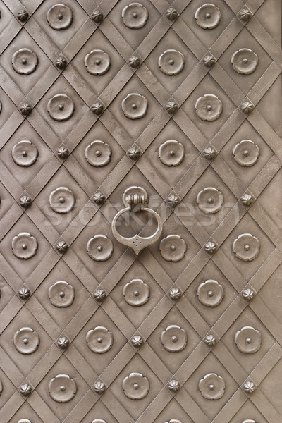 Medieval castelo porta principal República Checa coberto Foto stock © searagen