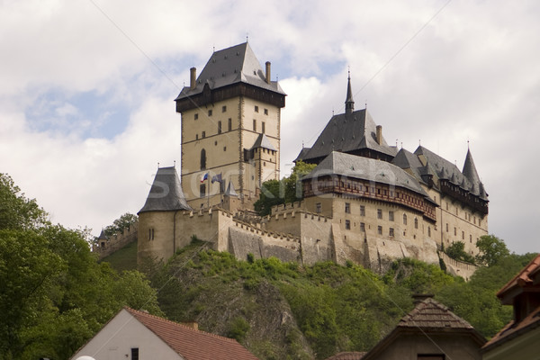 Karlstein Castle Stock photo © searagen