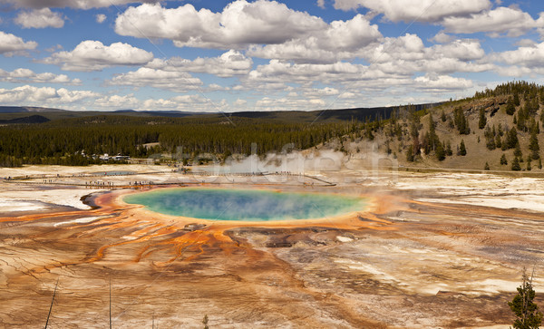 Grand Prismatic Spring Stock photo © searagen