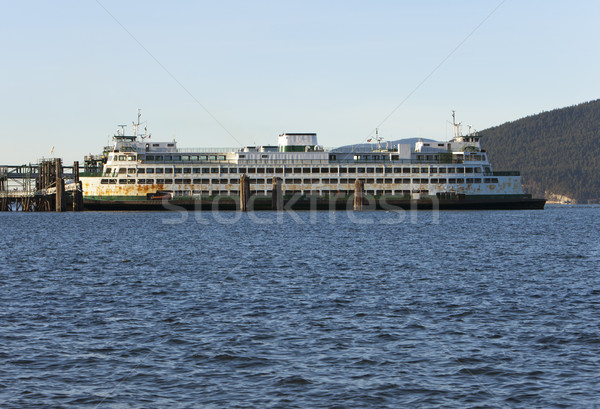 Pont dok Washington behoefte verf baan Stockfoto © searagen