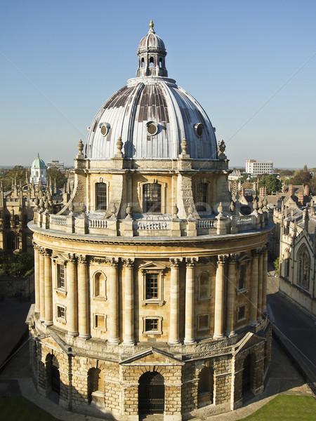 Cámara biblioteca oxford Inglaterra arquitectónico estilo Foto stock © searagen