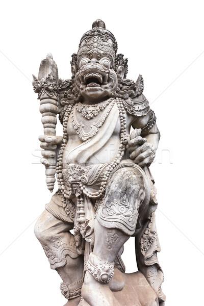 Bali heykel ayrıntılar dışında giriş tapınak Stok fotoğraf © searagen