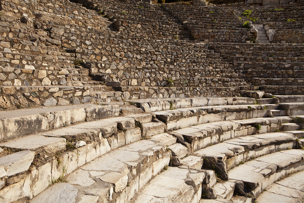 Greek Theater at Ephesus Stock photo © searagen