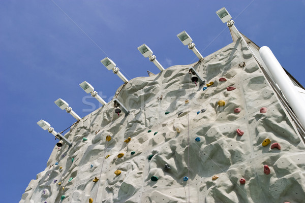 Climbing Wall From Below Stock photo © searagen