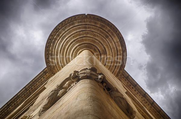 Barcelona Building Highlight Stock photo © searagen