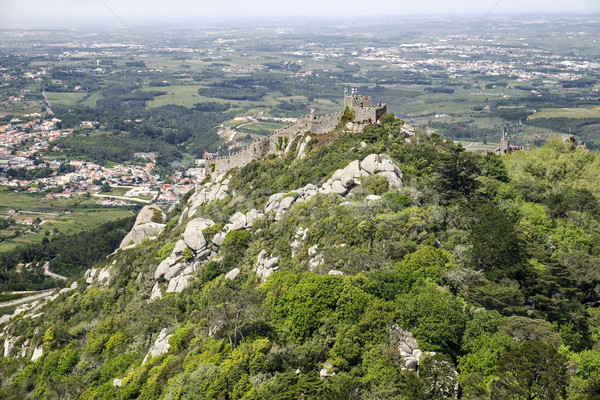 Moorish Hill Fortress In Sintra Stock photo © searagen
