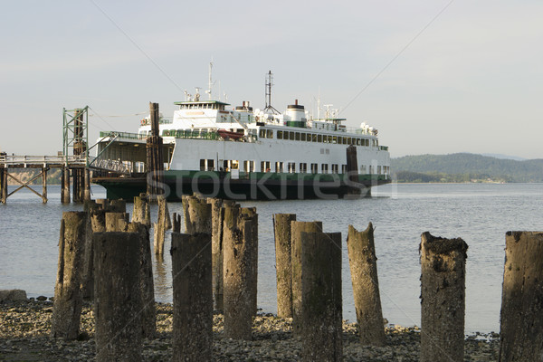 Ferry At The Dock Stock photo © searagen