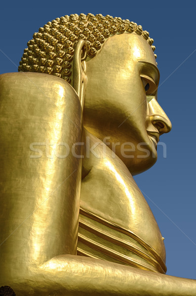 Statue or buddha or couvert central Photo stock © searagen