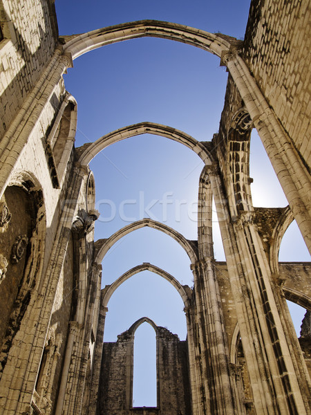 Stock photo: Ruins of the Carmo Church