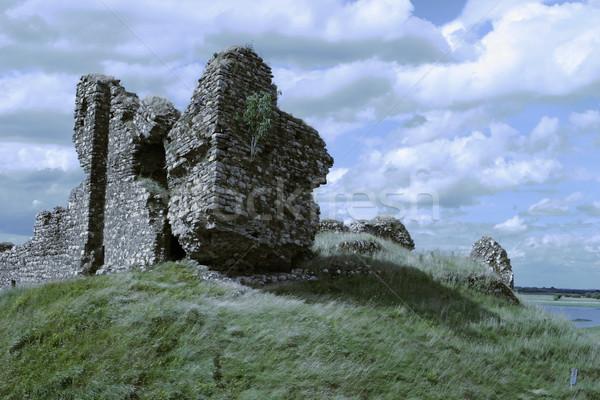 Irish Castle Ruins Stock photo © searagen