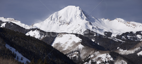 Mt. Daly Panorama Landscape Stock photo © searagen