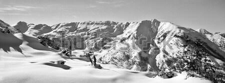 Colorado Mountain Landscape Stock photo © searagen
