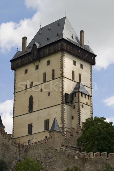 Karlstein Castle Tower Stock photo © searagen