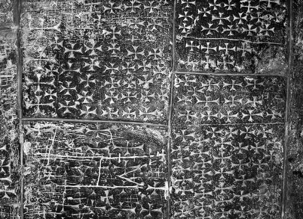 Pietra cross christian coprire blocchi seminterrato Foto d'archivio © searagen