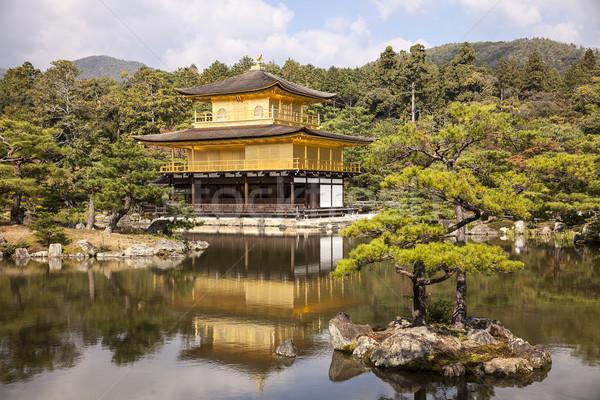 Golden Pavilion At Rokuonji Stock photo © searagen
