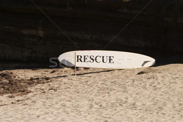 Rescue Surfboard Stock photo © searagen