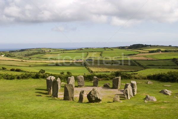 Stone Circle at Drombeg Stock photo © searagen