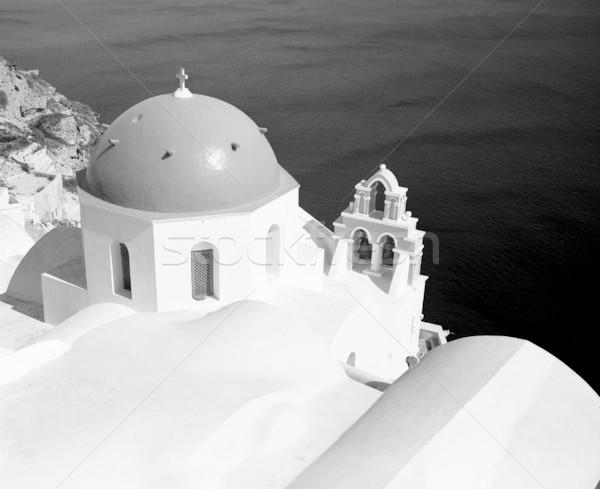 Oia Church Dome Stock photo © searagen