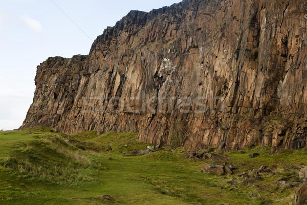 Salisbury Crags Detail Stock photo © searagen