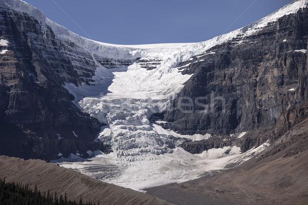 Cupola ghiacciaio neve ghiaccio campo top Foto d'archivio © searagen