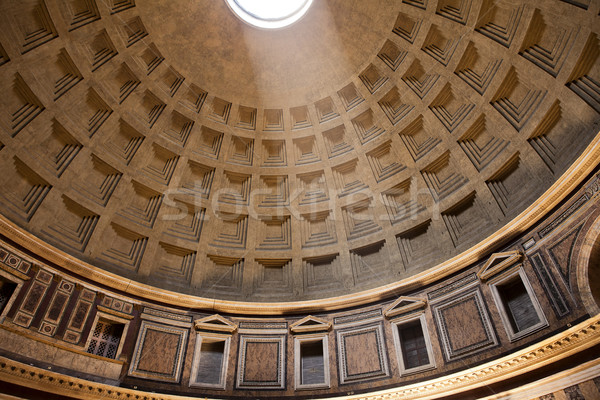 Ceiling Of The Pantheon Stock photo © searagen