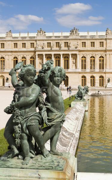 три декоративный один уголки пруд Версаль Сток-фото © searagen