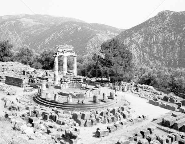 Sanctuary of Athena at Delphi Stock photo © searagen