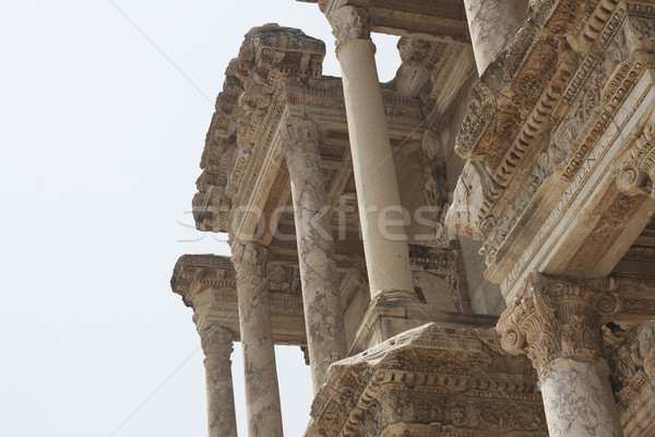 Library Of Celsus at Ephesus in Turkey Stock photo © sedatseven